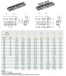 Short pitch conveyor chain attachment-4